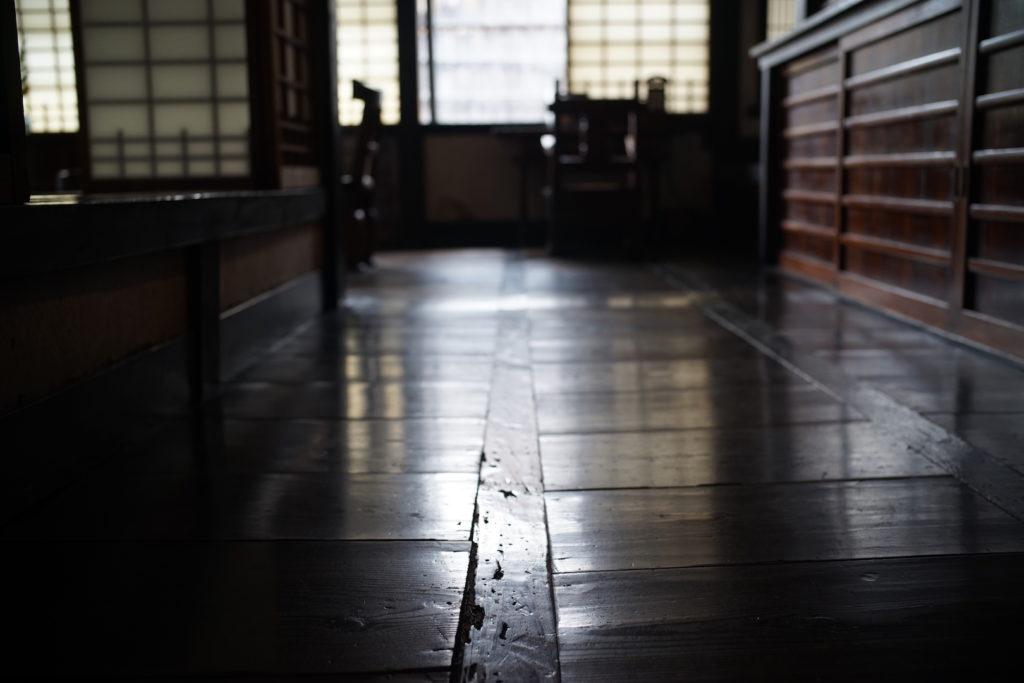 河井寛次郎:朝鮮張りの床