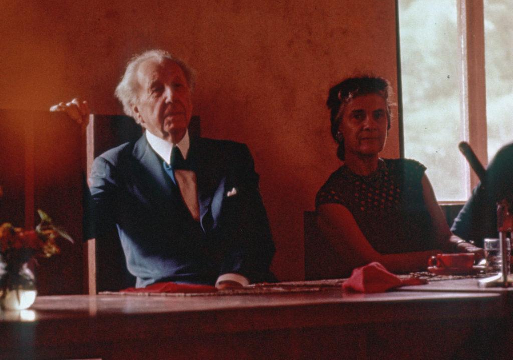 フランク・ロイド・ライト夫妻