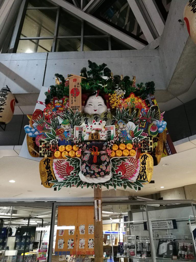 鷲神社の超巨大熊手、ビッグサイト