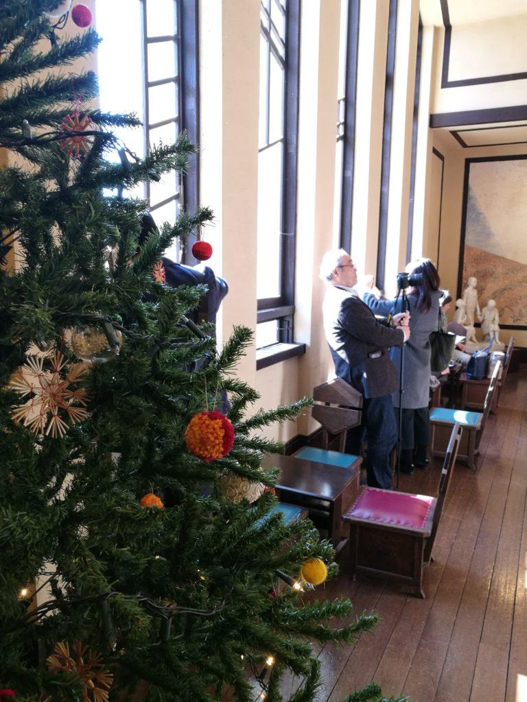明日館のクリスマスツリー