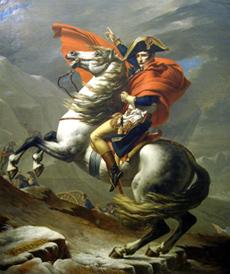 アルプス越えのナポレオン