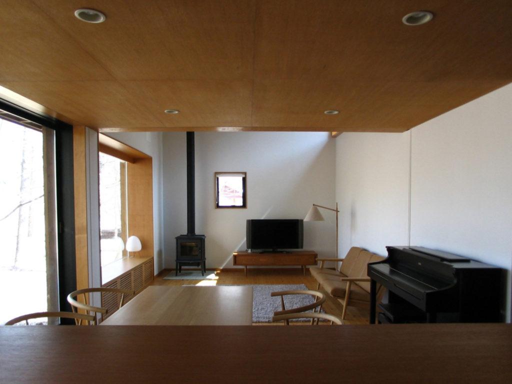軽井沢の食堂