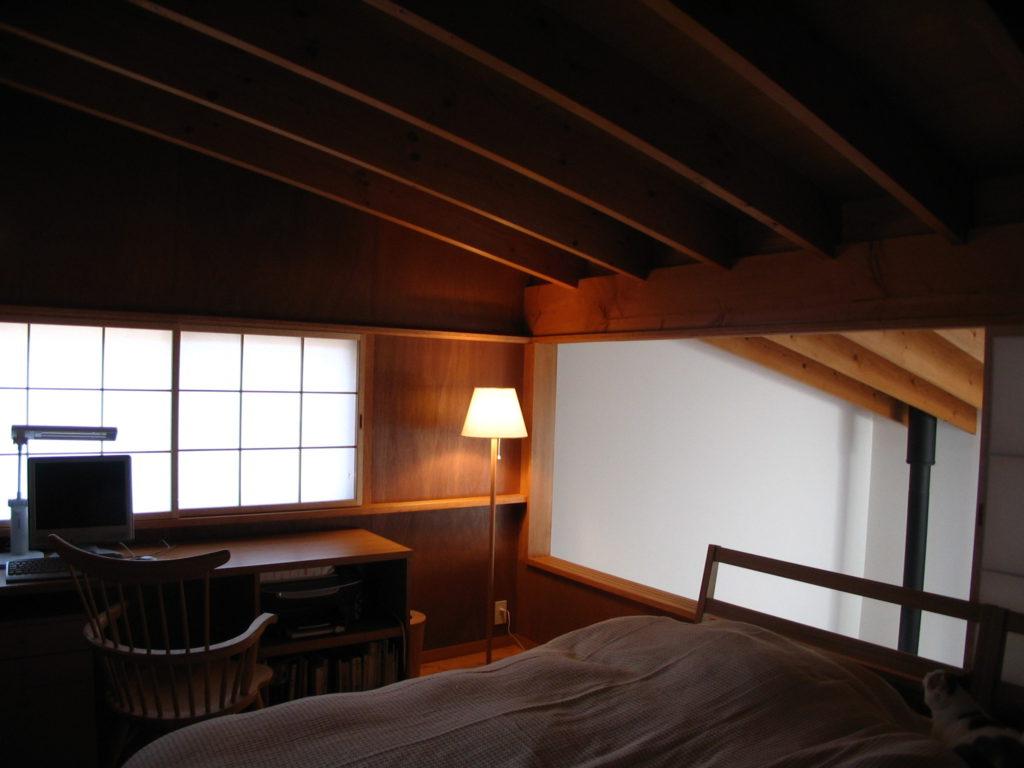 軽井沢の書斎