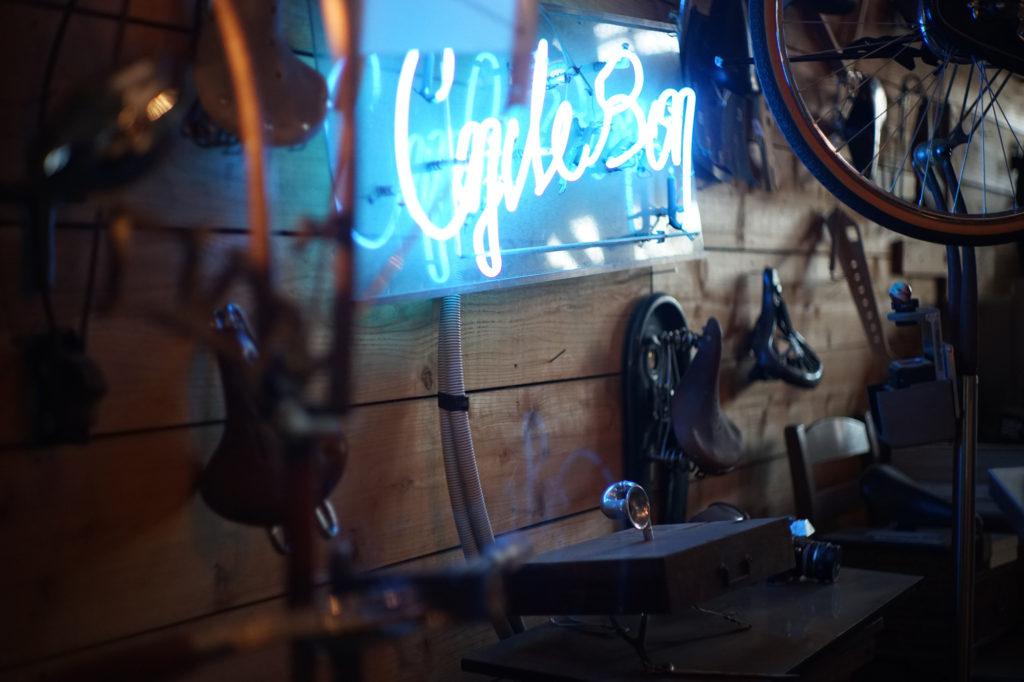 自転車パーツの造形