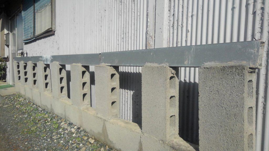 D.I.Yの塀