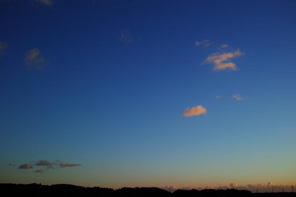浜松の夕暮