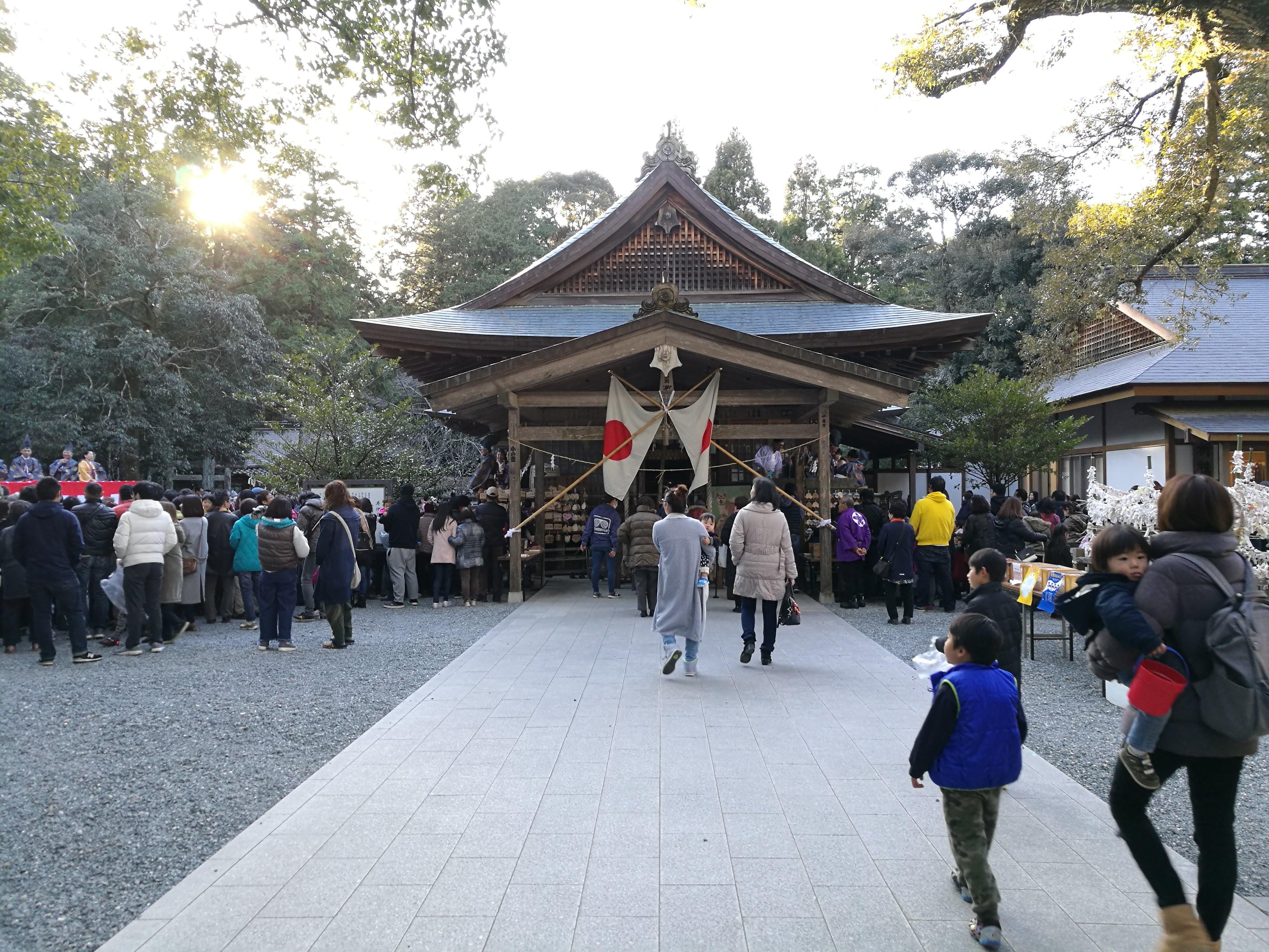 井伊谷宮の節分祭