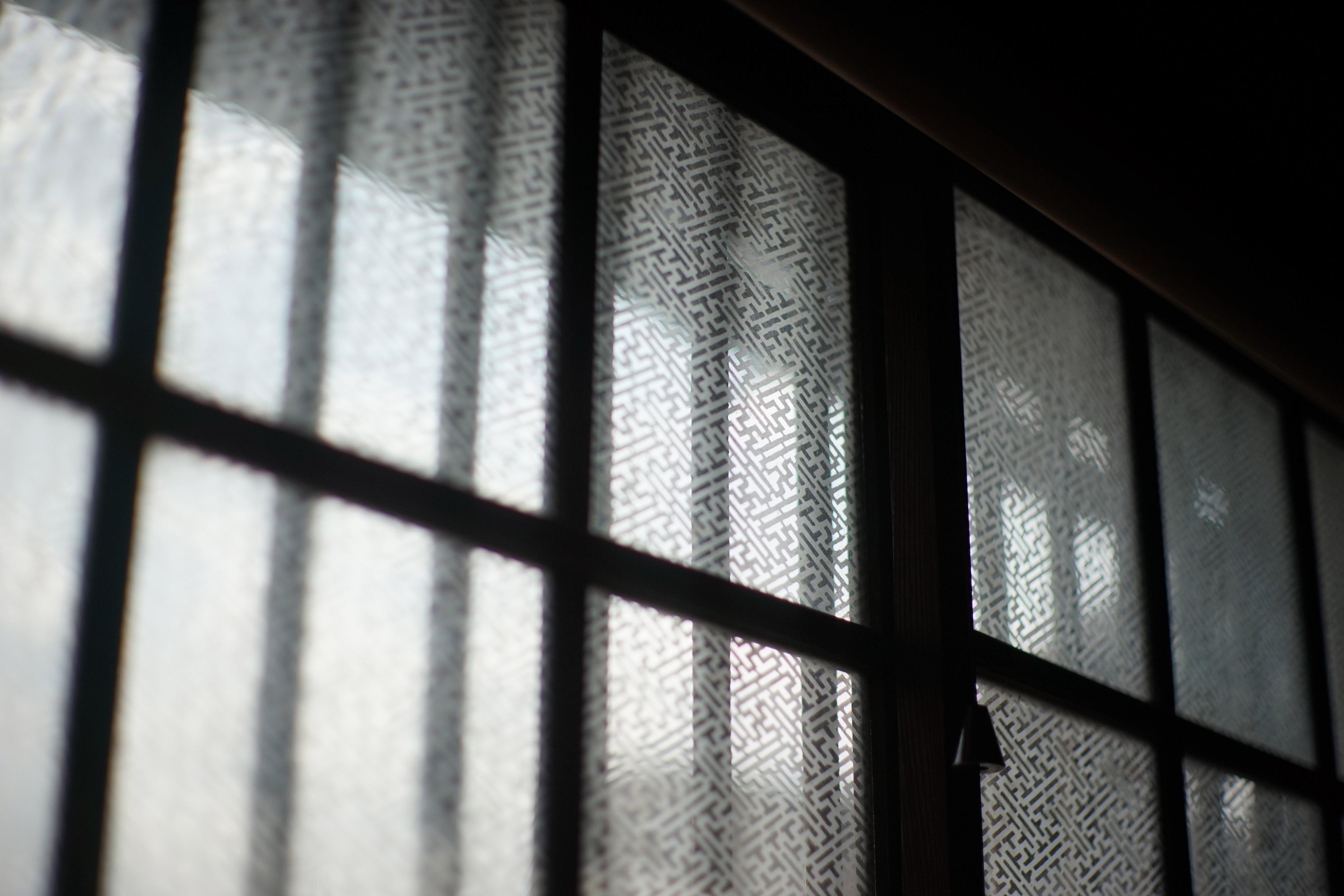 松澤穣暮らしを映すカメラ第6話住まい塾埼玉県志木市本町2-4-50きれいなエッチングのガラス窓