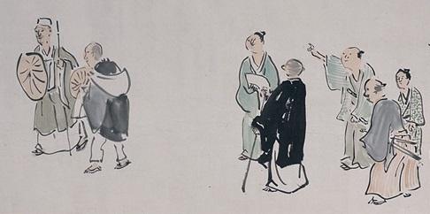 蕪村が描いた芭蕉