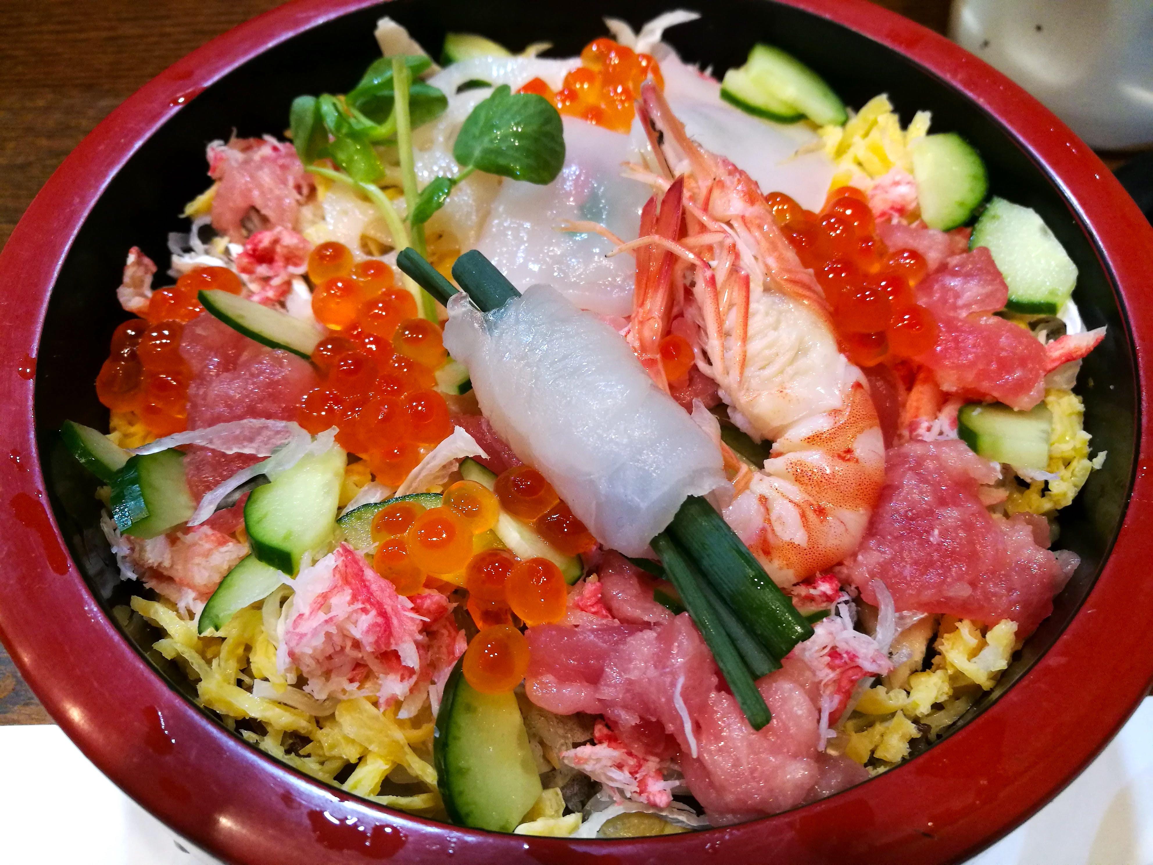 雛祭ちらし寿司