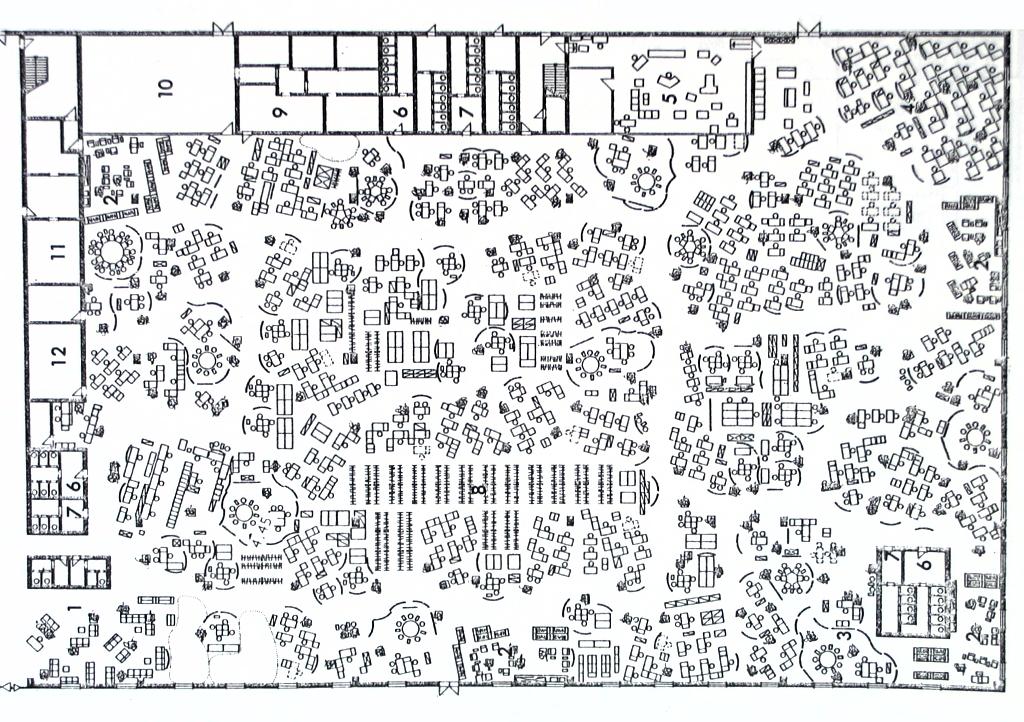 Bürolandschaft/Großraumbüro