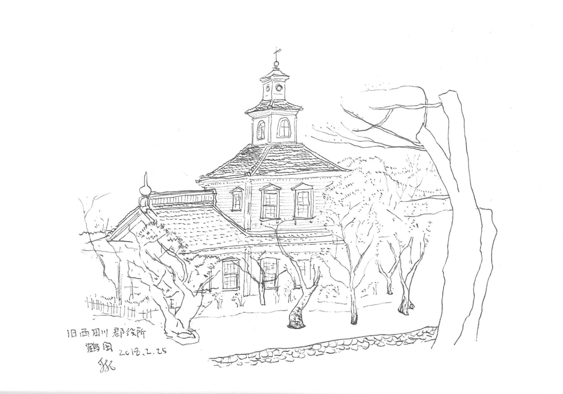 山形県鶴岡市の木造建築