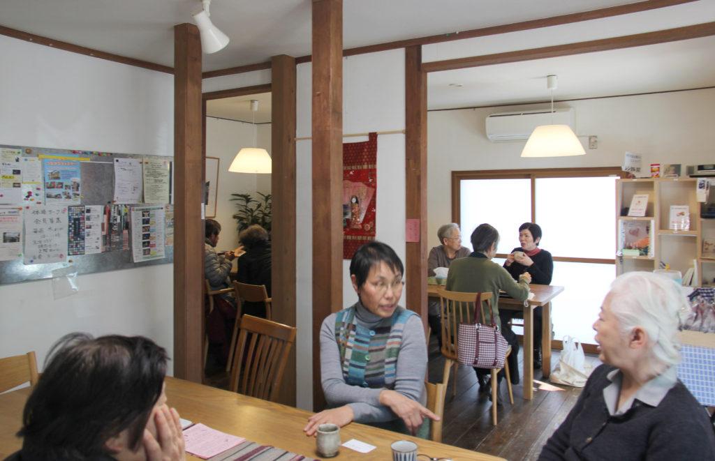 コミュニティカフェ「楽多舎」