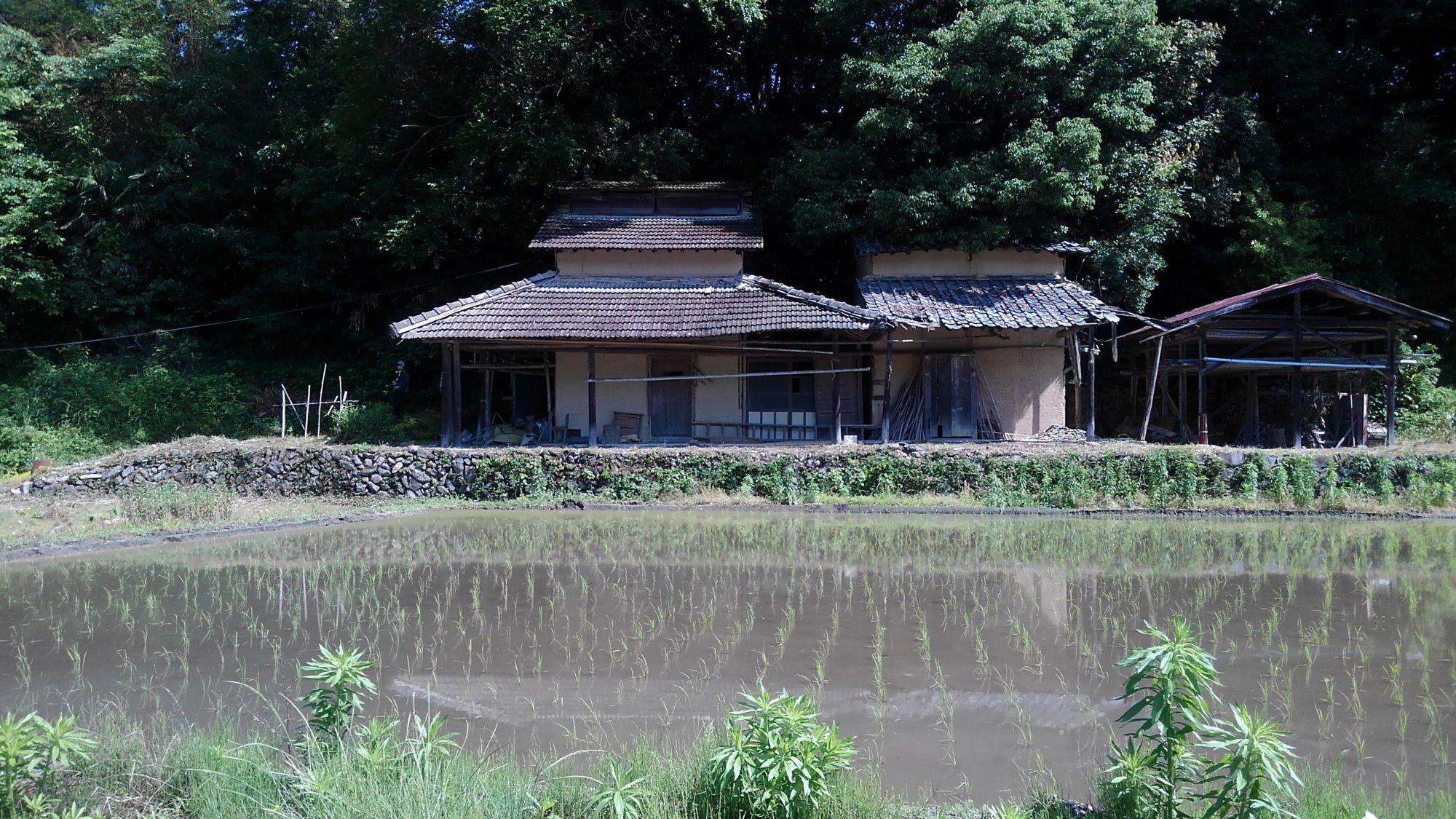 讃岐のベーハ小屋
