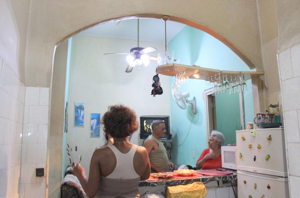 キューバの家庭