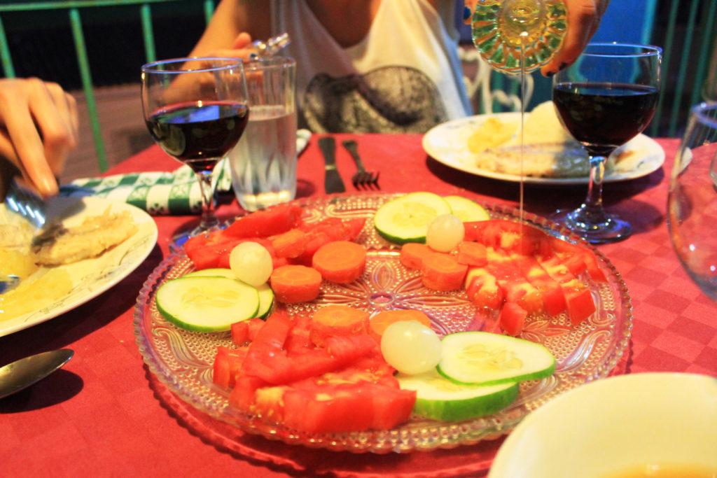キューバの家庭料理