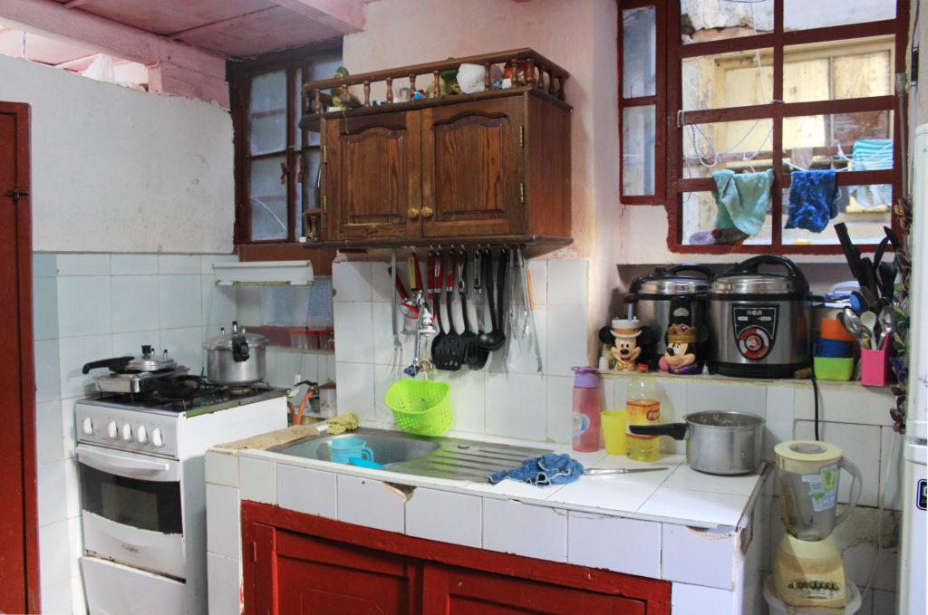 キューバのキッチン