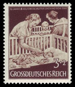 ナチスの母子援助活動