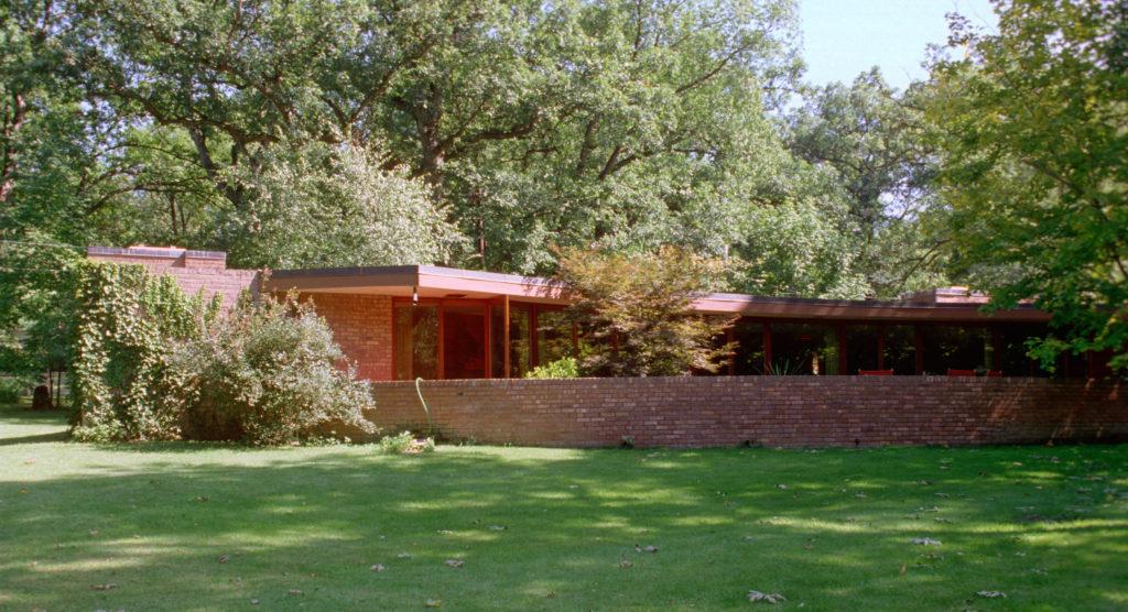 フランク・ロイド・ライト設計Laurent邸外観