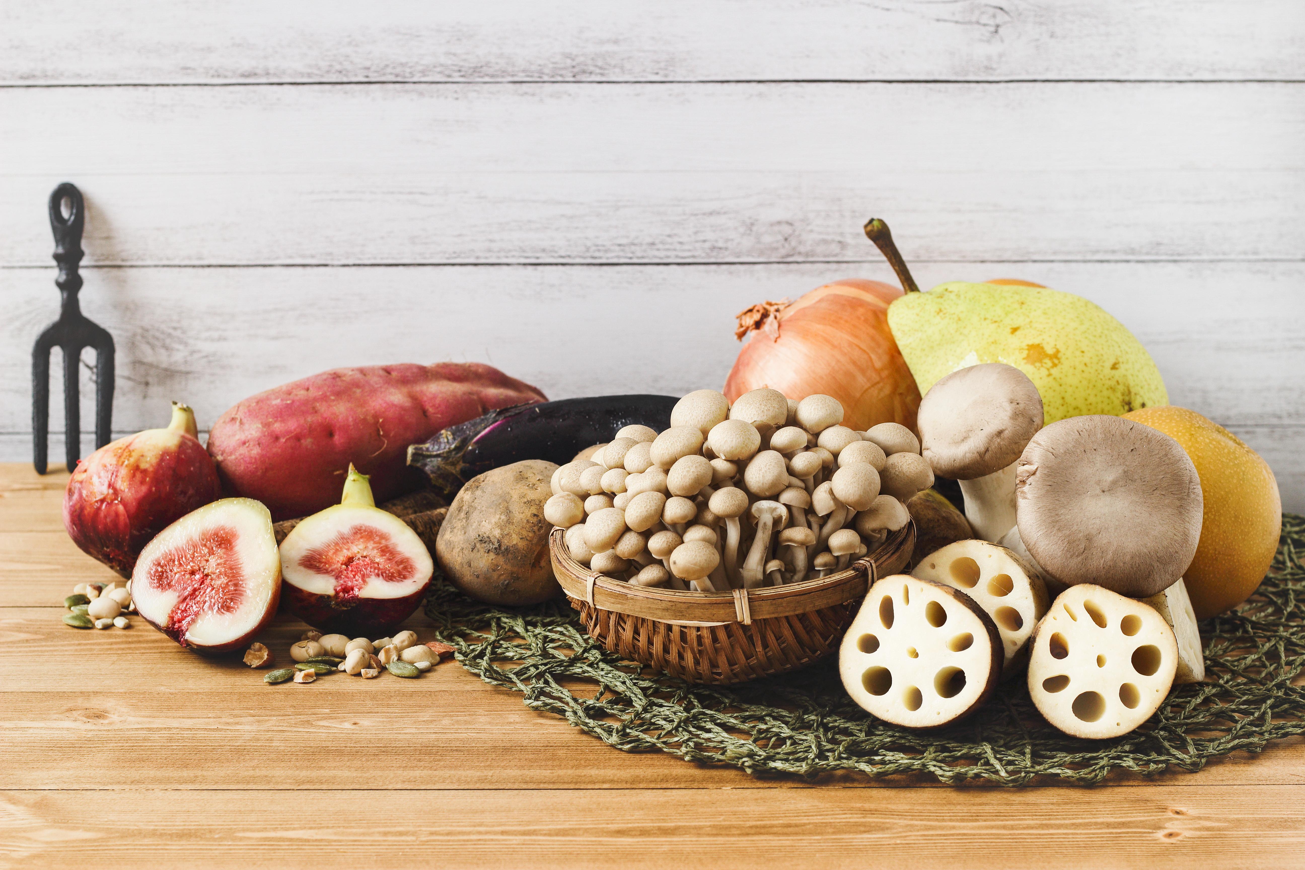 旬のデータ 秋の野菜