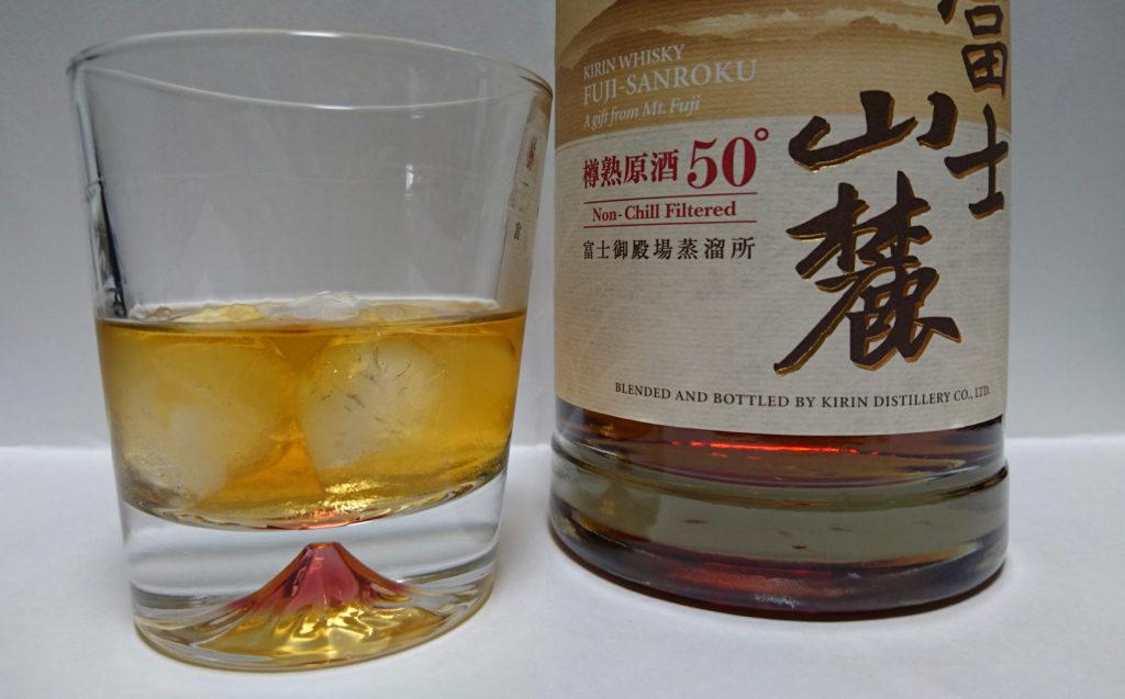 ウイスキー富士山麓樽熟原酒50°