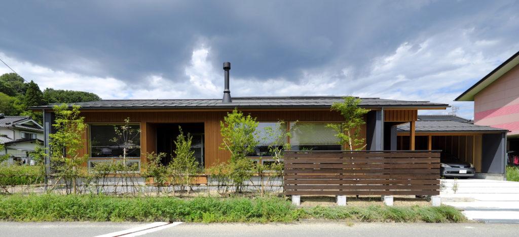 住まいのグラフィティ南信州の平屋 新井建築工房+設計同人NEXT