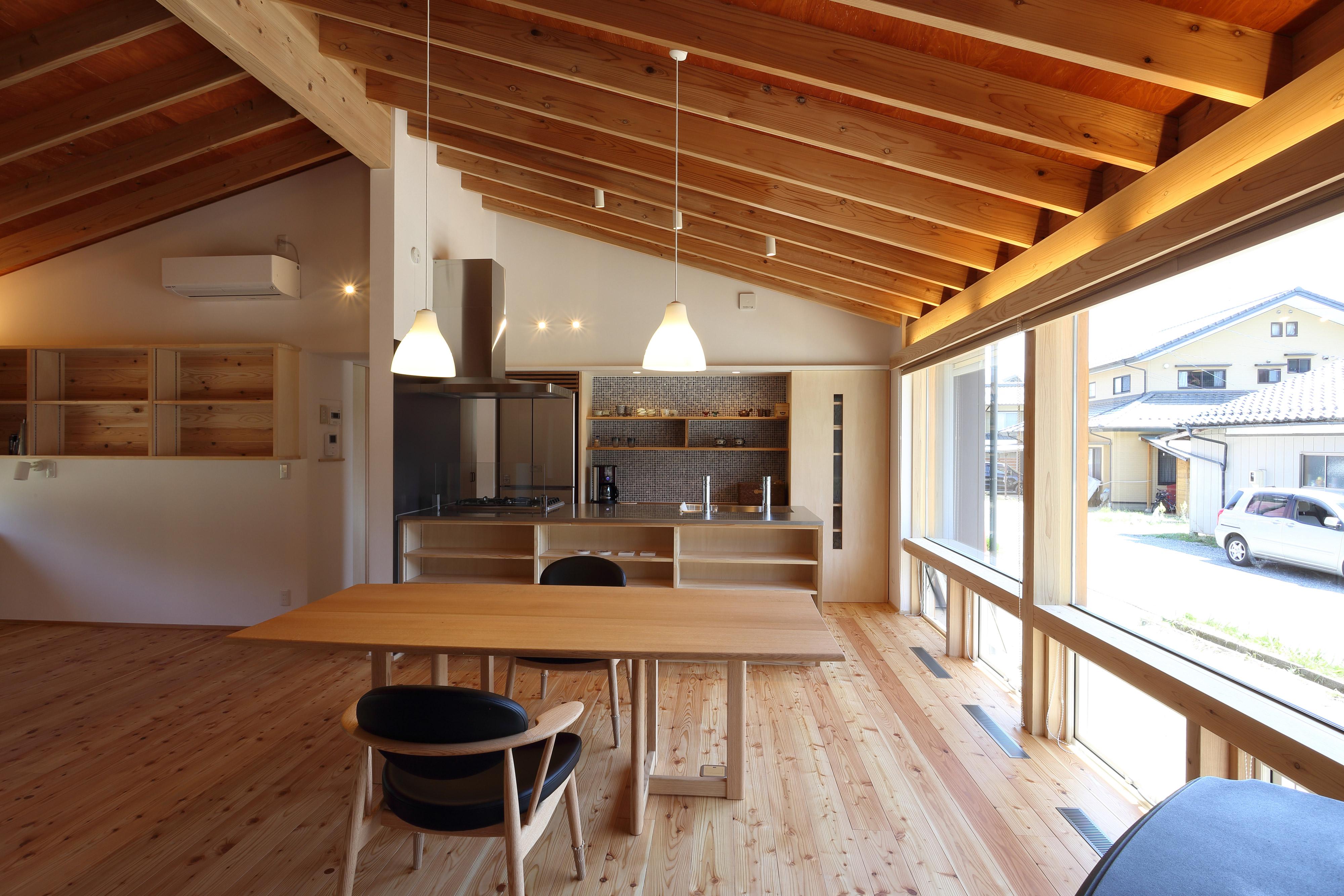 南信州の平屋 新井建築工房+設計同人NEXT