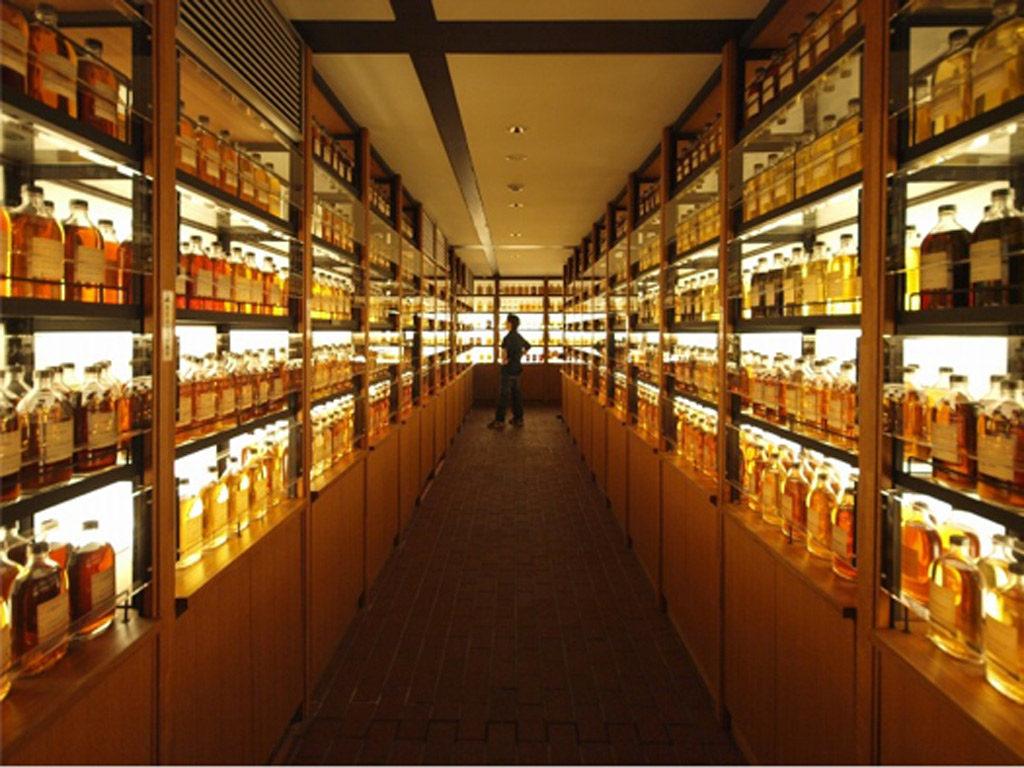 サントリー山崎ウイスキー工場