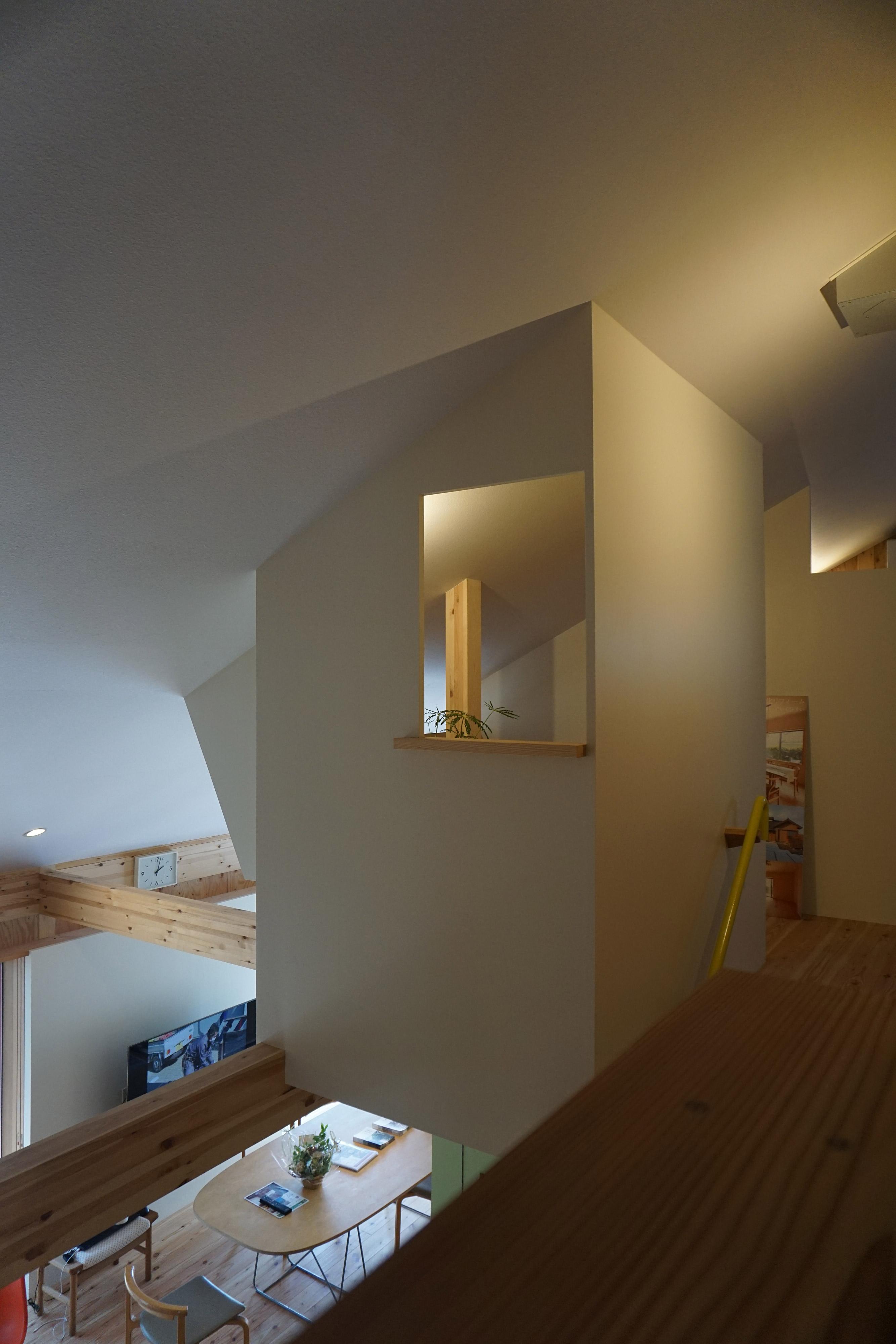 隠れ家のような小部屋