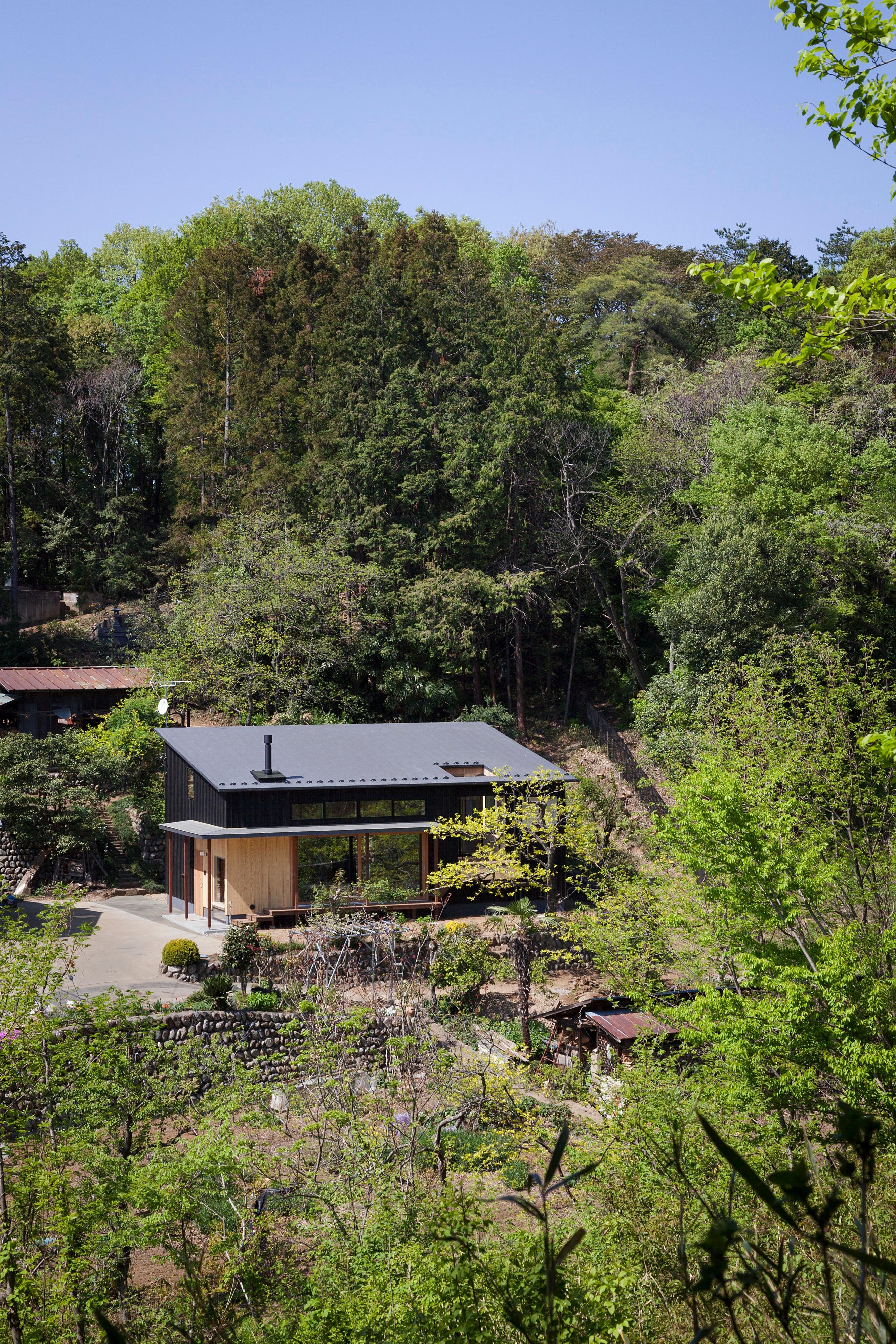 森の中に佇む家