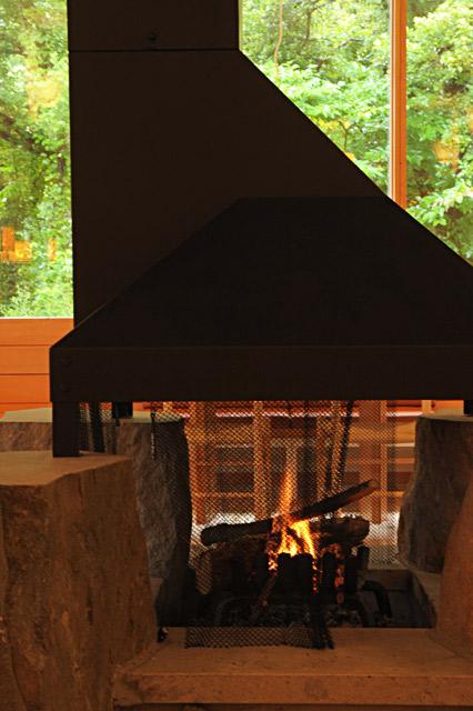 ホテリ・アアルトの暖炉