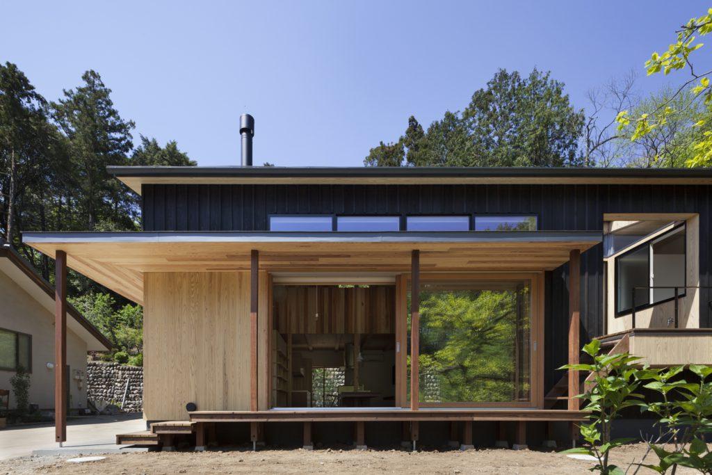 住まいのグラフィティHAN環境・建築設計事務所「森林公園の家」