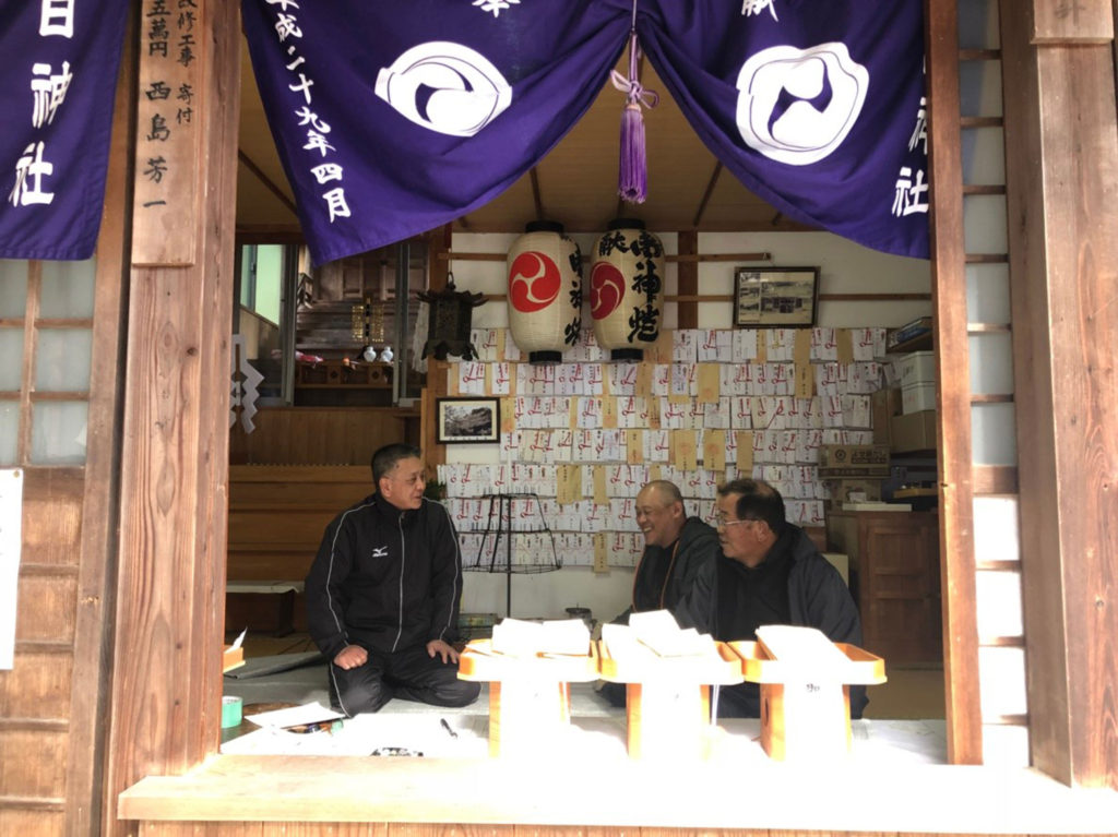 目の神様生目神社(香川県三豊市)の社殿