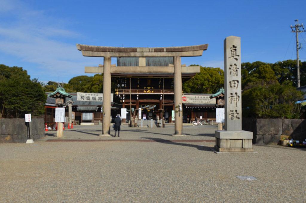 愛知県一宮市真清田神社のご神祭は尾張開拓の祖天火明命