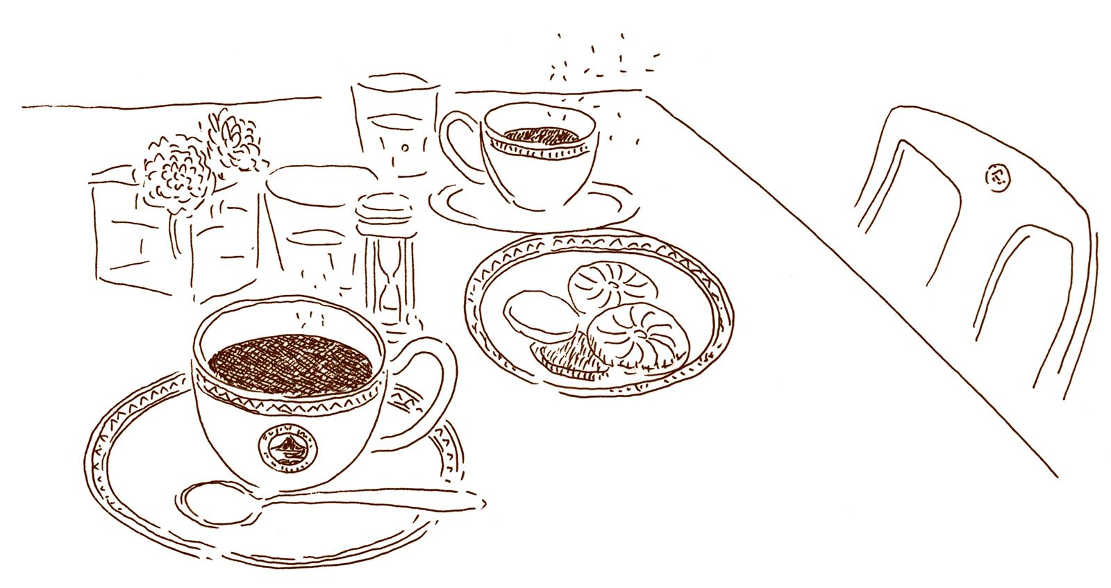 富士屋ホテルのコーヒー