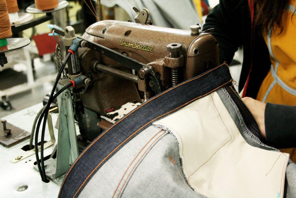 岡山県倉敷市の縫製技術