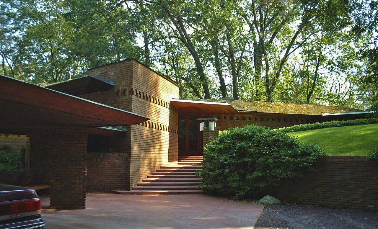 三角モジュールの家Palmer house