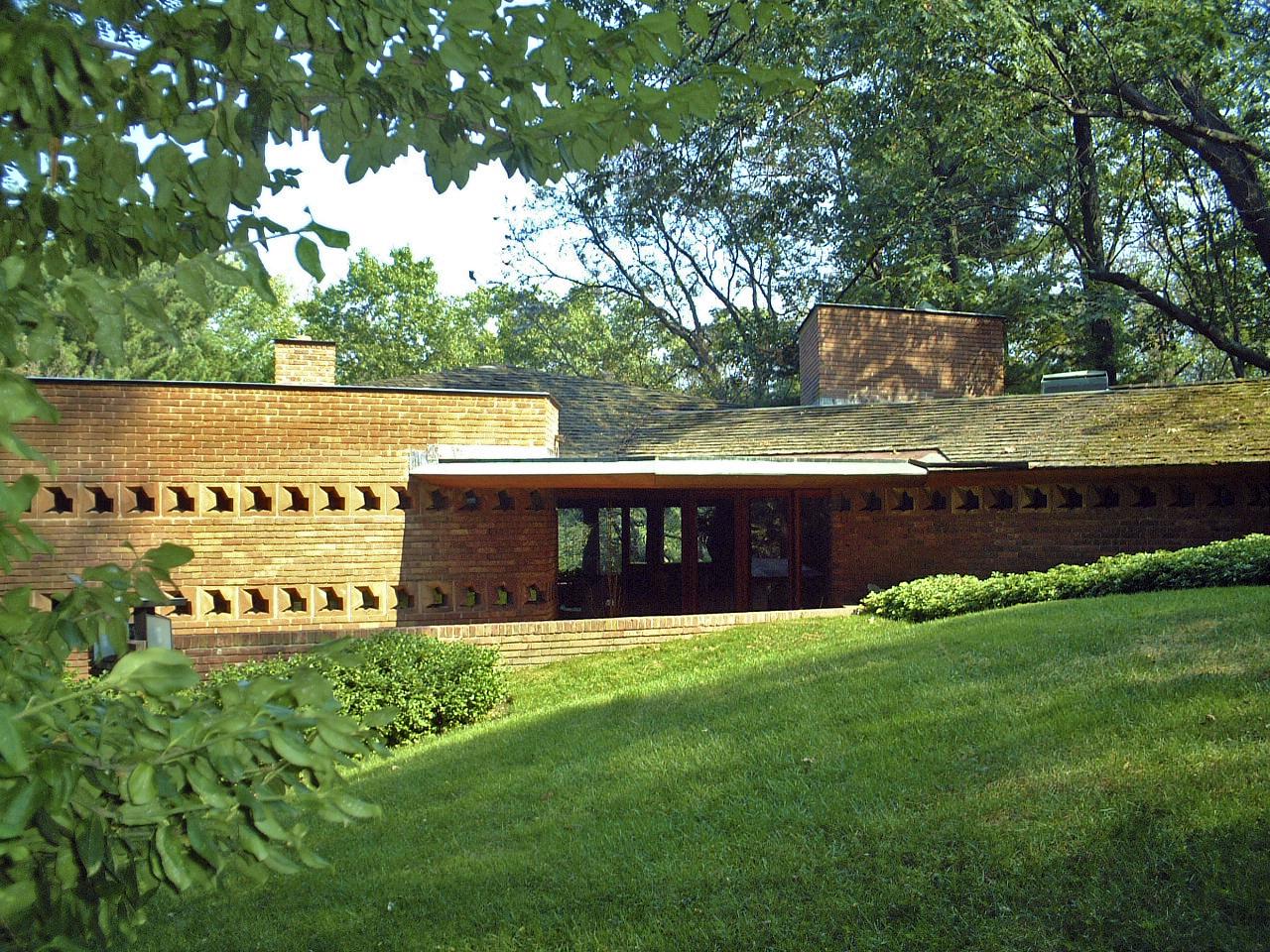 フランク・ロイド・ライト 建築家 建築 三角モジュールの家 Palmer house