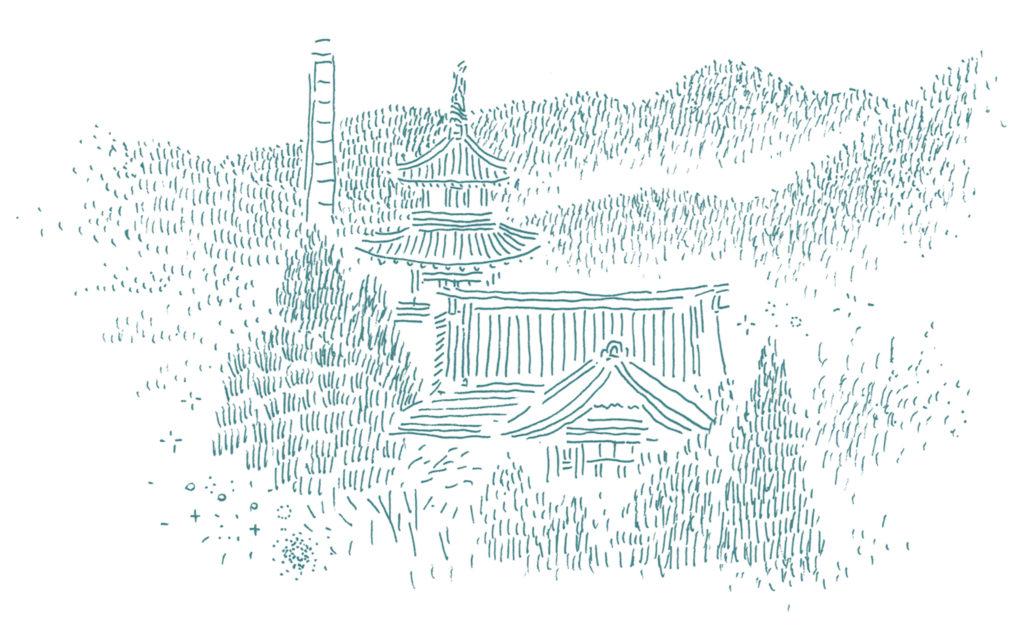富士屋ホテルイラスト
