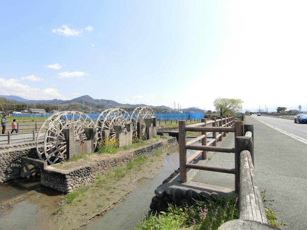 朝倉地区の水車群