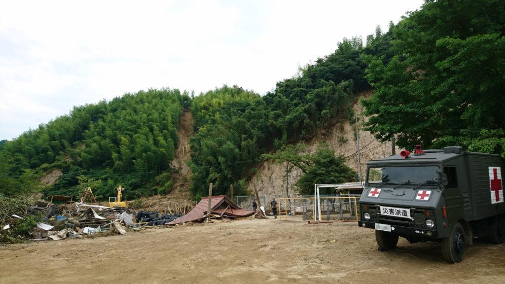 九州北部豪雨災害での自衛隊災害派遣