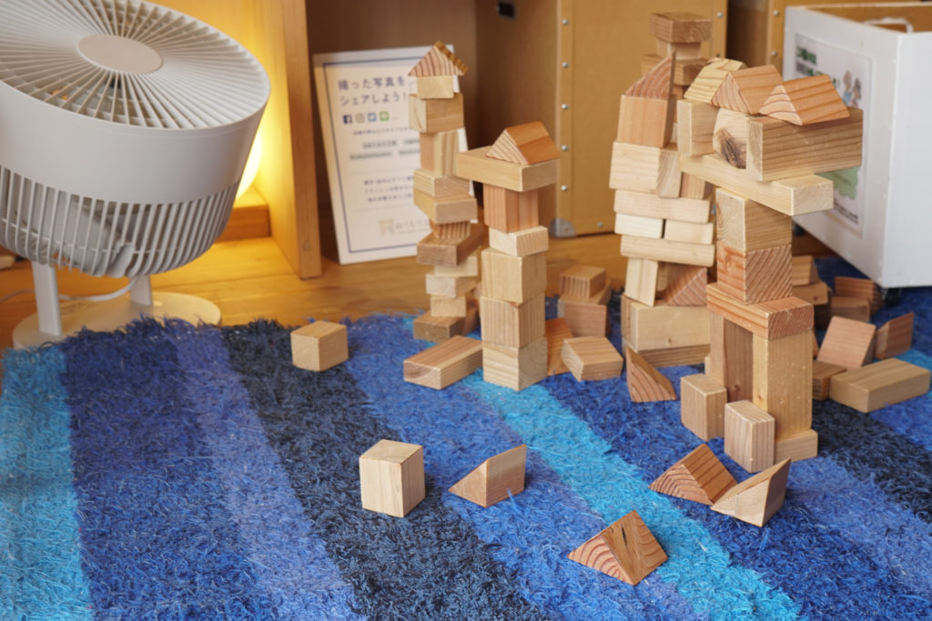 積み木の大作