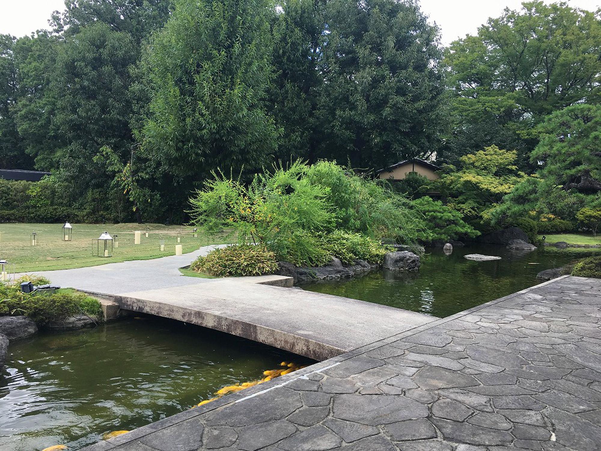 ザ・ガーデンオリエンタル・大阪の庭園