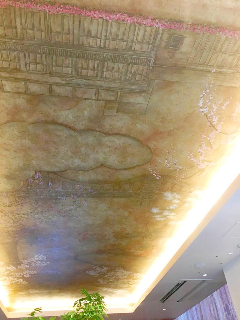 ザ・ガーデンオリエンタル・大阪の天井画