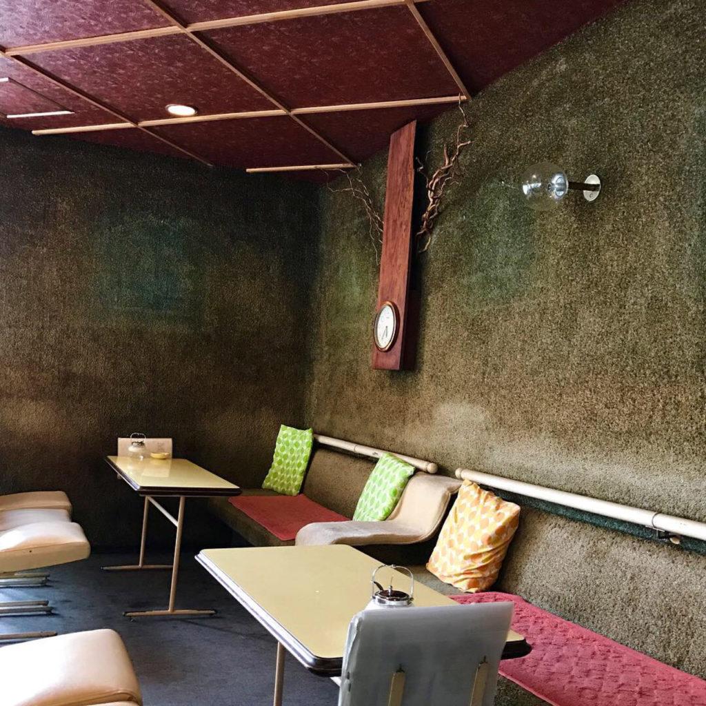 雰囲気のある古い喫茶店