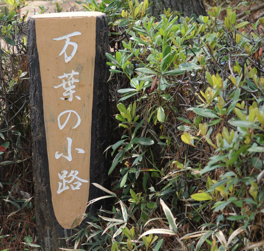和歌浦の万葉の小路