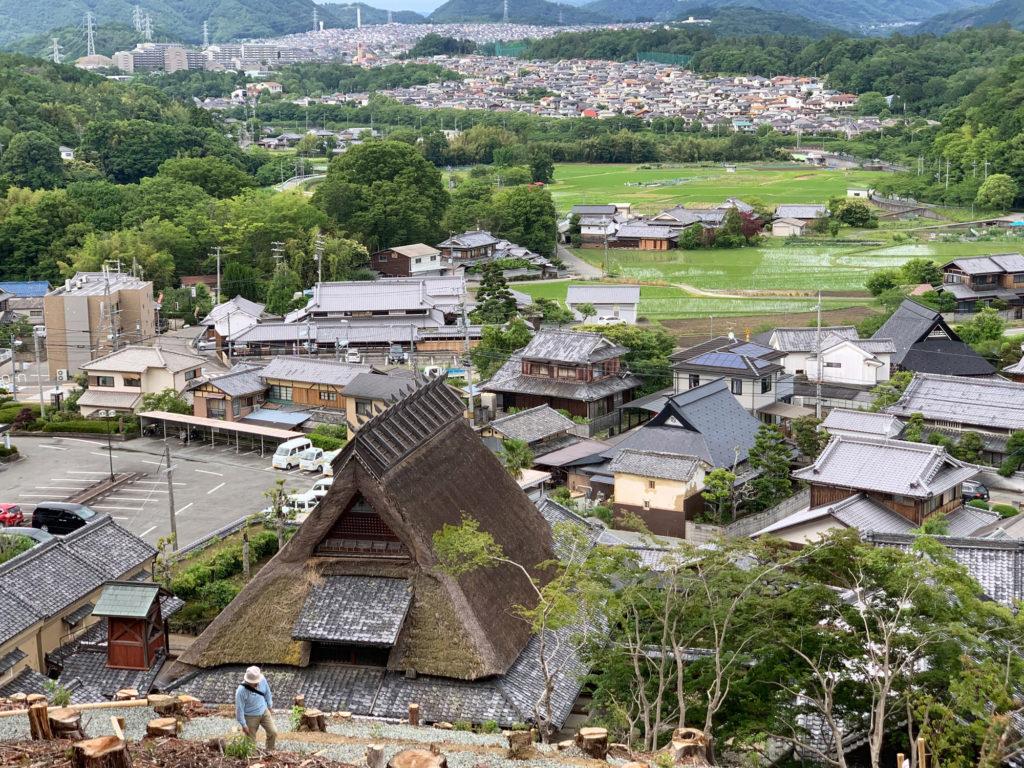 兵庫県の景観形成重要建築物がある景色