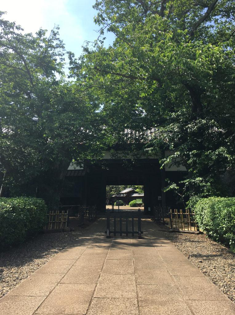 旧吉田家住宅の長屋門