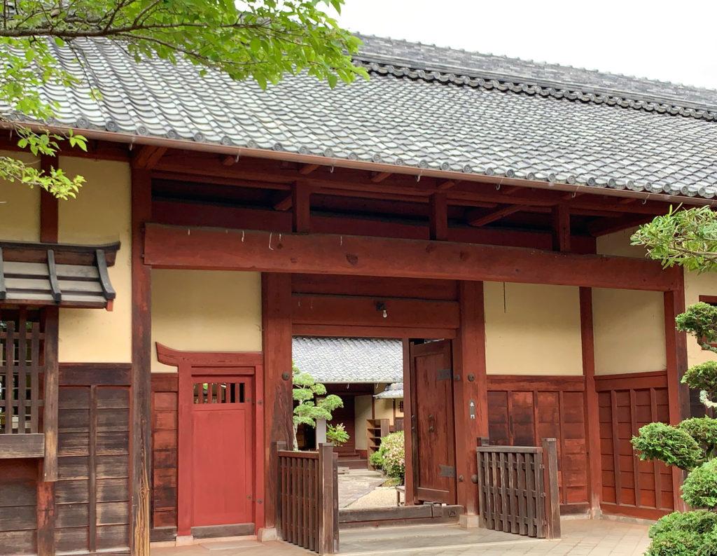 兵庫県の景観形成重要建築物静思館