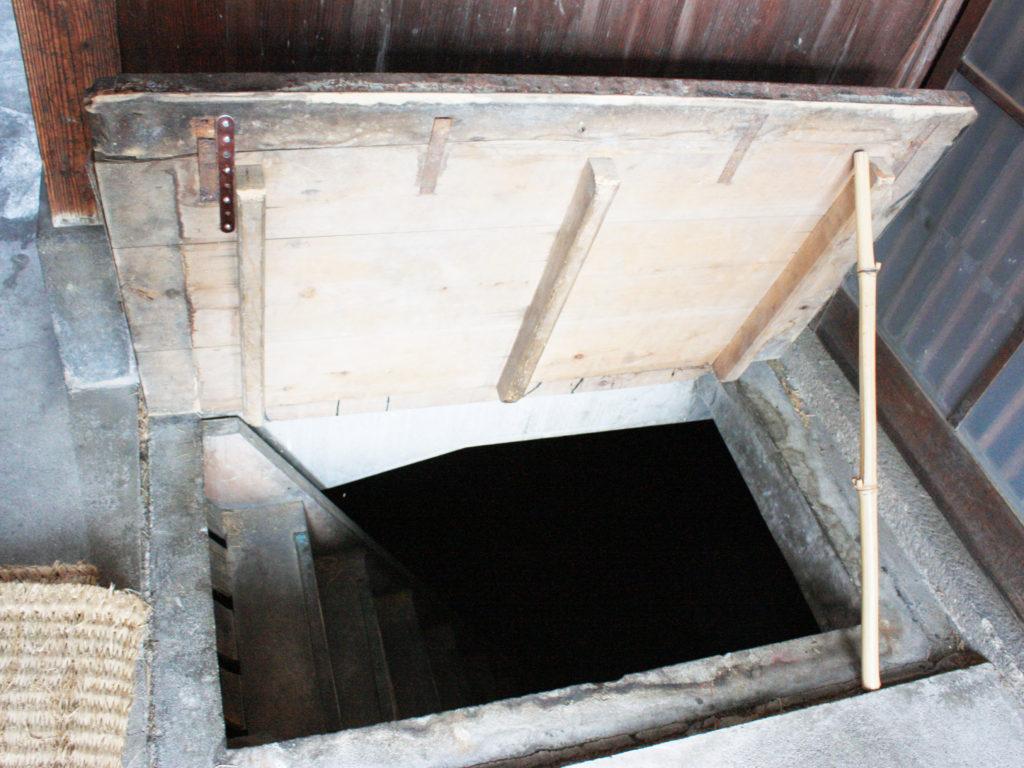 地下防空壕